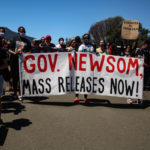 Protest at San Quentin Prison over Spikes in Covid-19
